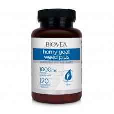 Мощен афродизиак Biovea HORNY GOAT WEED PLUS 120 Capsules цена 51.00лв.