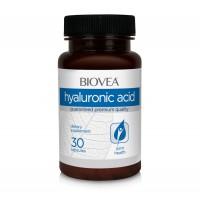 Хранителна добавка Biovea HYALURONIC ACID 40mg 30 Capsules цена 25.50лв.