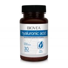 Хранителна добавка Biovea HYALURONIC ACID 40mg 30 Capsules