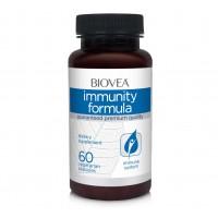 Хранителна добавка Biovea IMMUNITY FORMULA 60 Capsules цена 42.50лв.
