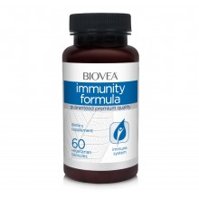 Хранителна добавка Biovea IMMUNITY FORMULA 60 Capsules -ПРОДУКТЪТ Е СЪС СРОК НА ГОДНОСТ 08/2021Г