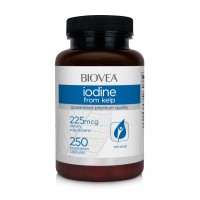 Антиоксидант Iodine From Kelp 225mg 250 Капсули - цена 34.00лв.