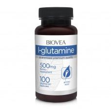 Хранителна добавка Biovea L-GLUTAMINE 500mg - цена 42.50лв.