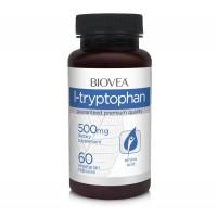 Хранителна добавка Biovea L-TRYPTOPHAN 500mg - цена 37.50лв.