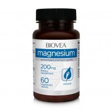 Хранителна добавка Biovea MAGNESIUM 200mg 60 caps