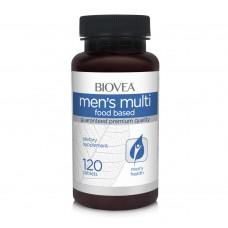 Хранителна добавка Biovea MEN'S MULTI (FOOD BASED) 120 Tabl