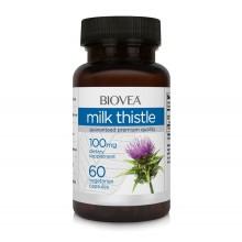 Хранителна добавка Biovea MILK THISTLE 100mg - цена 19.00лв.