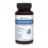 Хранителни добавки Biovea MUIRA PUAMA 300mg 100 капсули - цена 35.50лв.