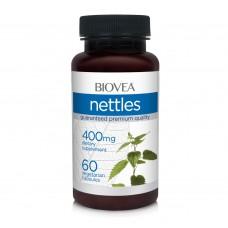 Хранителна добавка Biovea NETTLES 400mg -със срок на годност 05/2021г.