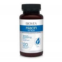 Хранителна добавка Biovea NIACIN (Vitamin B3) 300mg - цена 34.50лв.