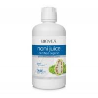 Хранителна добавка Biovea NONI JUICE (100% Organic) 946 ml - цена 44.00лв.