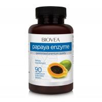 Хранителна добавка Biovea PAPAYA ENZYME 500mg - цена 30.50лв.