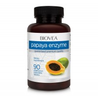 Хранителна добавка Biovea PAPAYA ENZYME 500mg 90 tabs