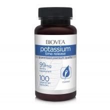 Хранителна добавка Biovea POTASSIUM (TIME RELEASE) 99mg