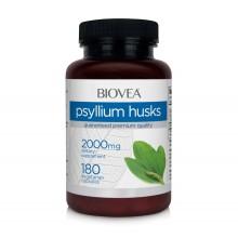Хранителна добавка Biovea PSYLLIUM HUSKS 2000mg - цена 34.00 лв.