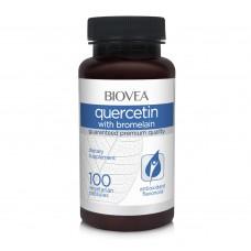 Хранителна добавка Biovea QUERCETIN WITH BROMELAIN