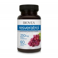 Хранителна добавка Biovea RESVERATROL 250mg - цена 45.50 лв.