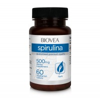 Хранителна добавка Biovea SPIRULINA  60 Tablets - цена 30.50лв.