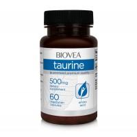 Хранителна добавка Biovea TAURINE 60 Capsules
