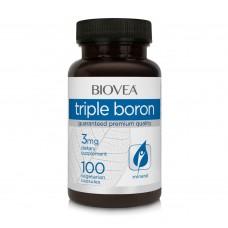 Хранителна добавка Biovea TRIPLE BORON 3mg