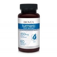 Хранителна добавка Biovea TURMERIC ROOT EXTRACT 450mg - цена 34.00лв.