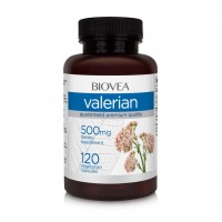 Хранителна добавка Biovea VALERIAN 120 капсули - цена 39.00лв.