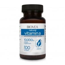 Хранителна добавка Biovea VITAMIN A 10,000 IU