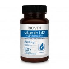 Витамини Biovea VITAMIN B12 Methilcobalamin 500mcg