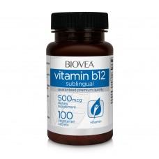 Хранителна добавка Biovea VITAMIN B12 500mcg