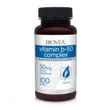 Витамини Biovea VITAMIN B-50 COMPLEX 100 Tabl цена 19.50лв.