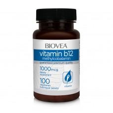 Хранителна добавка Biovea VITAMIN B12 (Methylcobalamin) 1000mcg