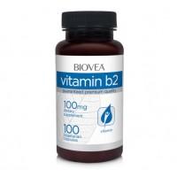 Хранителна добавка Biovea VITAMIN B2 100 Tabl -СЪС СРОК НА ГОДНОСТ 06/2021Г