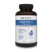 Хранителна добавка Biovea VITAMIN C 500mg - цена 28.50лв.