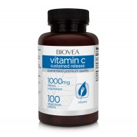 Витамини Biovea VITAMIN C Sustained Release 1000mg - цена 25.50лв.