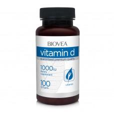 Хранителна добавка Biovea VITAMIN D 1000 IU