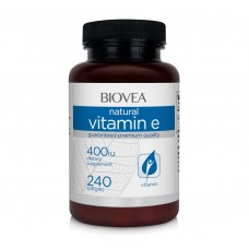 Витамини Biovea VITAMIN E 400 IU 240 Softgels - цена 78.50лв.