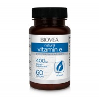 Витамини Biovea VITAMIN E 400 IU 60 Softgels