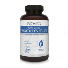 Витамини Biovea WOMEN'S MULTI (FOOD BASED) 120Tabl - цена 34.00лв.