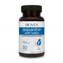 Хранителна добавка Biovea ZEAXANTHIN with LUTEIN 30 softgels