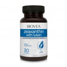 Хранителна добавка Biovea ZEAXANTHIN with LUTEIN 30 softgels
