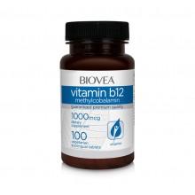Хранителна добавка Biovea VITAMIN B12 (Methylcobalamin) 1000mcg - цена 15.50лв.