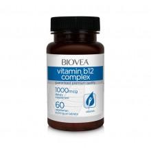 Хранителна добавка Biovea VITAMIN B12 COMPLEX 1000mcg - цена 15.50лв.