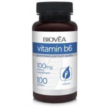 Хранителна добавка Biovea VITAMIN B6 100mg - цена 19.50лв.