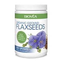 Хранителна добавка Biovea GROUND FLAXSEEDS (Organic) 392g цена 19.50лв.