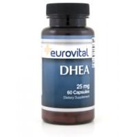 Хранителна добавка Eurovital DHEA 25 mg - цена 24.00лв.